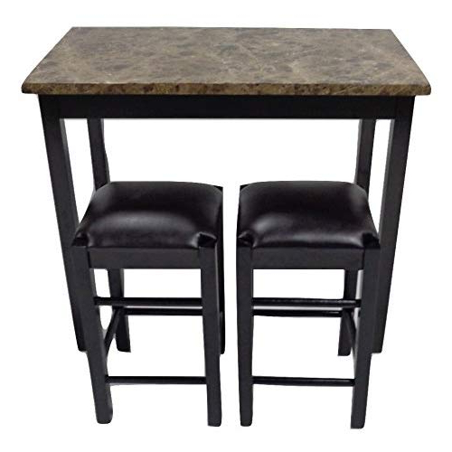 Calla 5 Piece Dining Sets Throughout Well Liked Bar Pub Table Sets: Amazon (View 7 of 20)