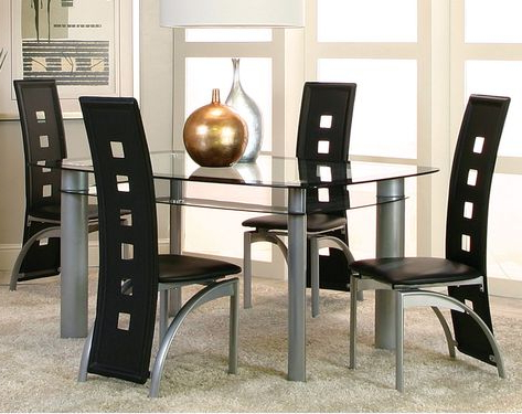 Cargo 5 Piece Dining Sets Pertaining To 2017 Pinterest (View 4 of 20)