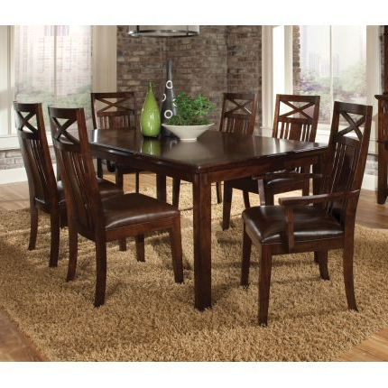 Carriage Hill 7 Piece Extendable Dining Set Intended For Most Recently Released Pratiksha Sonoma 5 Piece Dining Sets (Gallery 4 of 20)