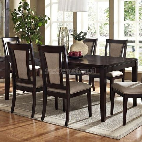 Carriage Hill 7 Piece Extendable Dining Set With Most Recent Pratiksha Sonoma 5 Piece Dining Sets (View 19 of 20)