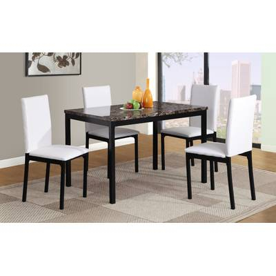 Chelmsford 3 Piece Dining Sets Throughout Well Liked Wrought Studio Chelmsford 3 Piece Dining Set & Reviews (Gallery 4 of 20)