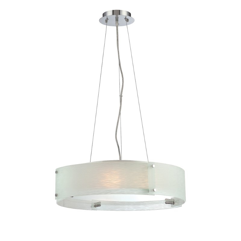 Contemporary 20 Inch Ceiling Lamp – Kaelin (Gallery 19 of 20)