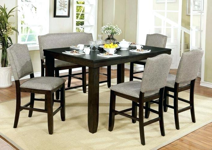 Counter Height Nook Set – Gtres.co Pertaining To 2017 Mysliwiec 5 Piece Counter Height Breakfast Nook Dining Sets (Gallery 11 of 20)
