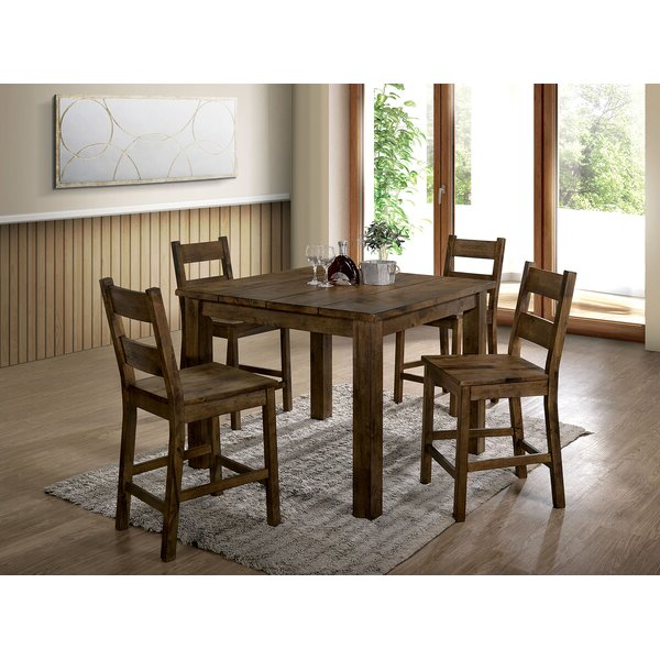 Current Anette 3 Piece Counter Height Dining Setcharlton Home 2019 Sale Inside Anette 3 Piece Counter Height Dining Sets (View 10 of 20)