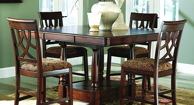Current Dining Room Furniture Palace With Regard To Northwoods 3 Piece Dining Sets (View 4 of 20)