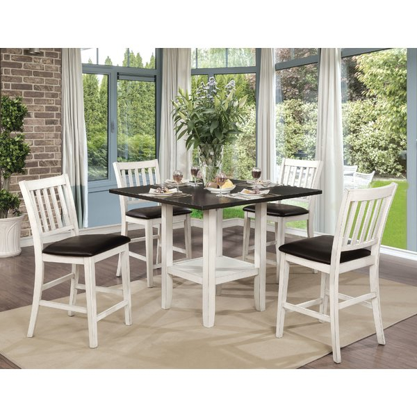 Current Kinsey 5 Piece Dining Setrosecliff Heights Spacial Price On Throughout Kerley 4 Piece Dining Sets (View 17 of 20)