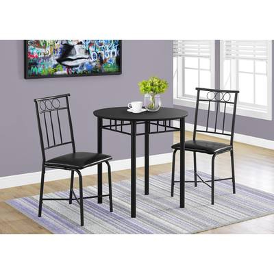 Current Queener 5 Piece Dining Sets Throughout Red Barrel Studio Queener 5 Piece Dining Set & Reviews (View 4 of 20)