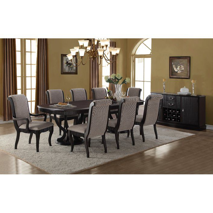 Dining Room With Goodman 5 Piece Solid Wood Dining Sets (Set Of 5) (View 5 of 20)