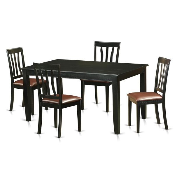 Dudley 5 Piece Dining Setwooden Importers Reviews On (View 9 of 20)