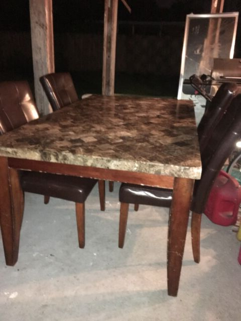 Ebay Intended For Bettencourt 3 Piece Counter Height Solid Wood Dining Sets (Gallery 16 of 20)