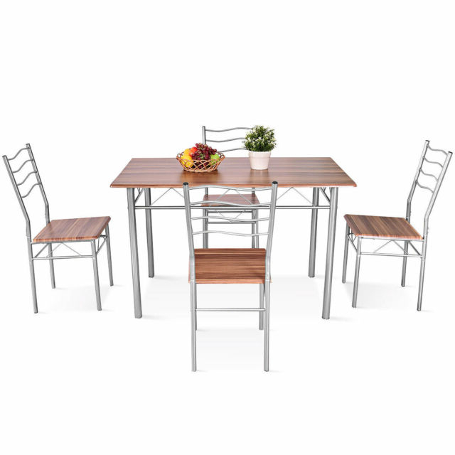 Ebay Pertaining To Miskell 3 Piece Dining Sets (Gallery 14 of 20)