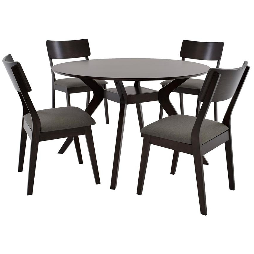 El Dorado Furniture In Most Recently Released Aria 5 Piece Dining Sets (Gallery 11 of 20)