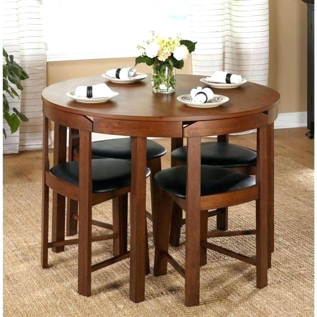 Evellen 5 Piece Solid Wood Dining Sets (Set Of 5) With Regard To Well Known Inexpensive Dining Sets Room Solid Furniture Fancy Table And Chairs (Gallery 19 of 20)