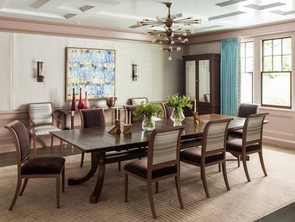 Falmer 3 Piece Solid Wood Dining Sets Regarding Popular 25 Tasteful Dining Rooms (View 20 of 20)