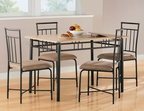 Famous Jarrod 5 Piece Dining Sets Inside Pinterest (View 4 of 20)