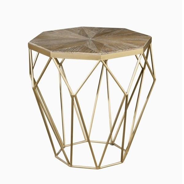 Famous Shop Isolde End Table – Free Shipping Today – Overstock – 23611077 With Regard To Isolde 3 Piece Dining Sets (View 4 of 20)
