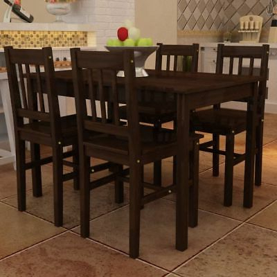 Famous Tavarez 5 Piece Dining Sets Regarding Dining Set With Table 4 Chairs Stable Kitchen Furniture Diy 5 Pieces (Gallery 14 of 20)