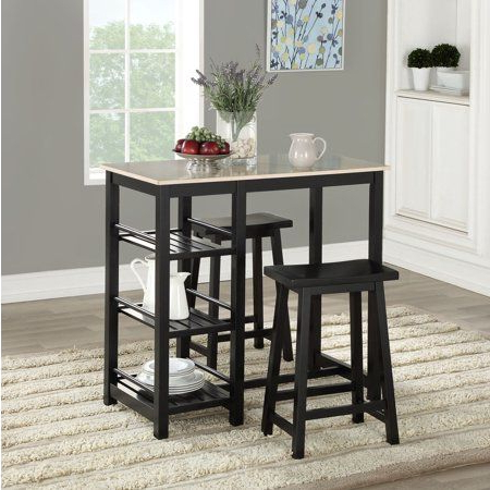 Famous Tenney 3 Piece Counter Height Dining Sets Throughout Home In 2019 (Gallery 10 of 20)