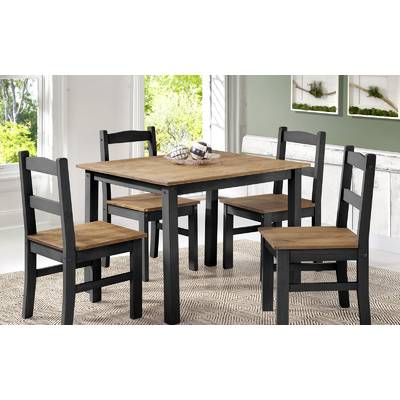 Fashionable Castellanos Modern 5 Piece Counter Height Dining Sets Throughout Union Rustic Castellanos Modern 5 Piece Counter Height Dining Set (Gallery 12 of 20)