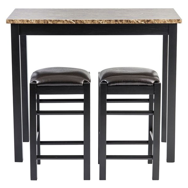 Fashionable Presson 3 Piece Counter Height Dining Sets With Regard To 5 Piece Counter Height Pub Table Setwooden Importers Comparison (View 3 of 20)