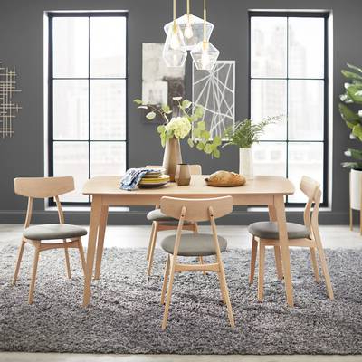 Fashionable Wholesale Interiors Baxton Studio Keitaro 5 Piece Dining Set In Baxton Studio Keitaro 5 Piece Dining Sets (Gallery 9 of 20)