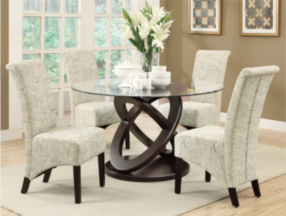 Favorite 5 Piece Dining Sets Regarding 7 Modern Round 5 Piece Dining Sets – Cute Furniture (View 9 of 20)