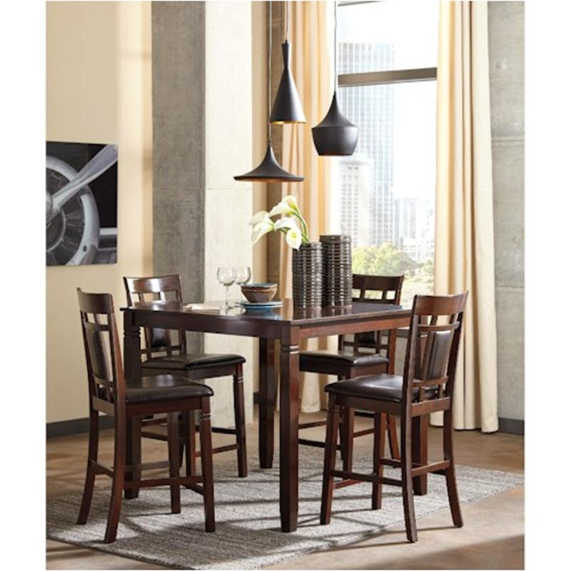 Favorite D384 223 Ashley Furniture Bennox 5Pc Counter Height Set Pertaining To Anette 3 Piece Counter Height Dining Sets (View 12 of 20)