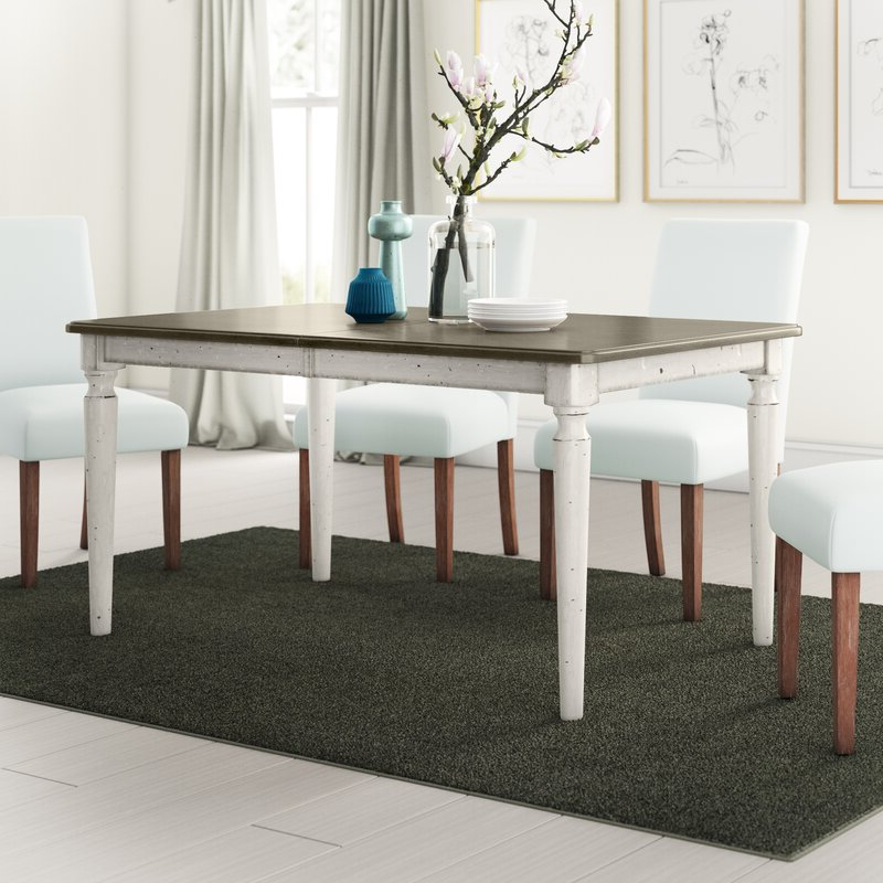 Favorite Isolde 3 Piece Dining Sets Inside Baleine Extendable Dining Table & Reviews (Gallery 17 of 20)
