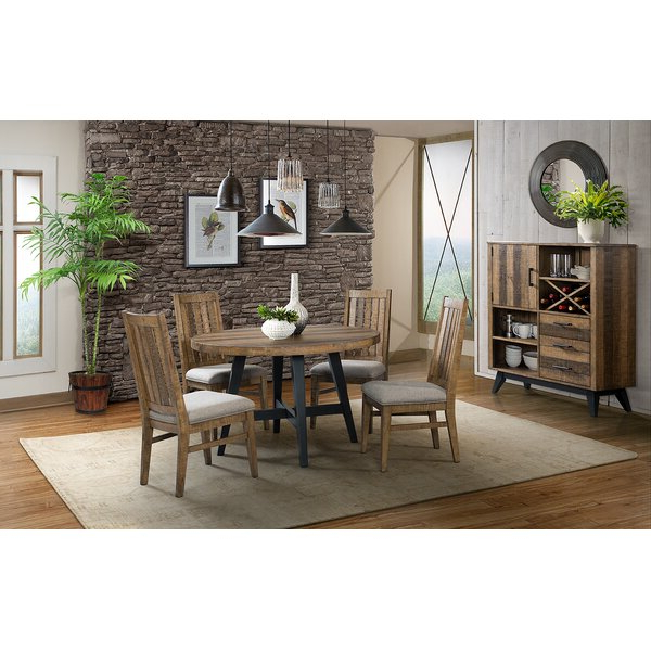 Favorite Laguna 5 Piece Dining Setunion Rustic Spacial Price On (View 17 of 20)