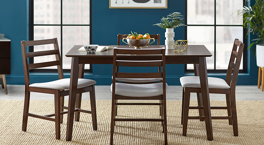 Favorite Lonon 3 Piece Dining Sets Pertaining To Kitchen & Dining Furniture – Walmart (View 18 of 20)