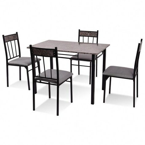 Fleur De Lis Living Shipststour 5 Piece Dining Set (View 16 of 20)