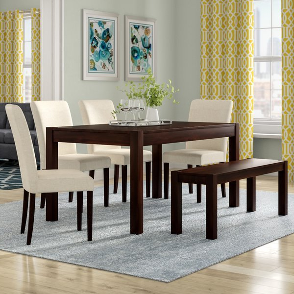 Furniture Style – Smaller Dining Tables – Sofa & Furniture Throughout Well Liked Laconia 7 Pieces Solid Wood Dining Sets (Set Of 7) (View 5 of 20)