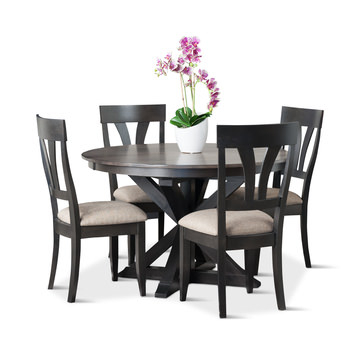 Gabberts Design Studio And Fine Furniture Inside Popular Bryson 5 Piece Dining Sets (View 10 of 20)