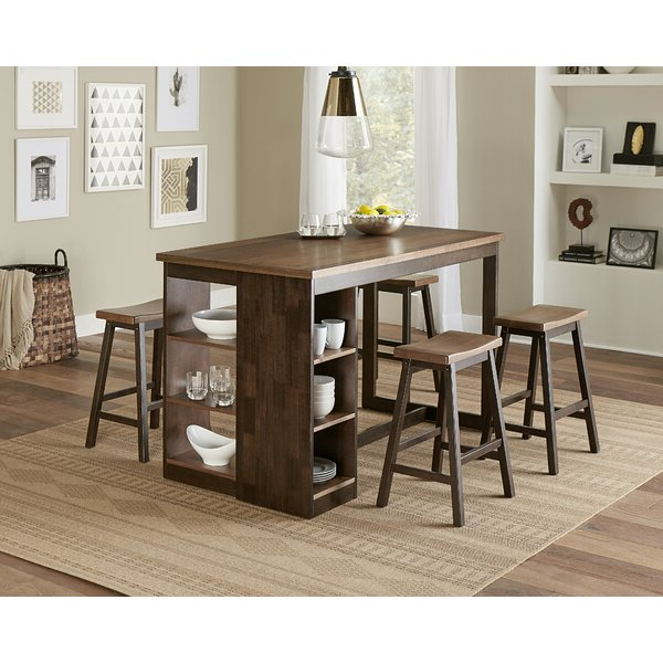 Honoria 3 Piece Dining Sets Within Most Up To Date Fresh Cedar Creek 5 Piece Dining Setthree Posts Discount (View 9 of 20)