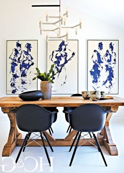 Interior Designer Maureen Mcdermott Turns A Sag Harbor Wallflower In Best And Newest Wallflower 3 Piece Dining Sets (Gallery 18 of 20)