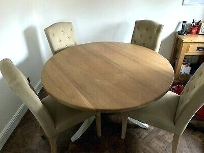 John 4 Piece Dining Sets For Most Recent John Lewis Dining Chairs Sale John Round Oak Dining Table And (View 13 of 20)