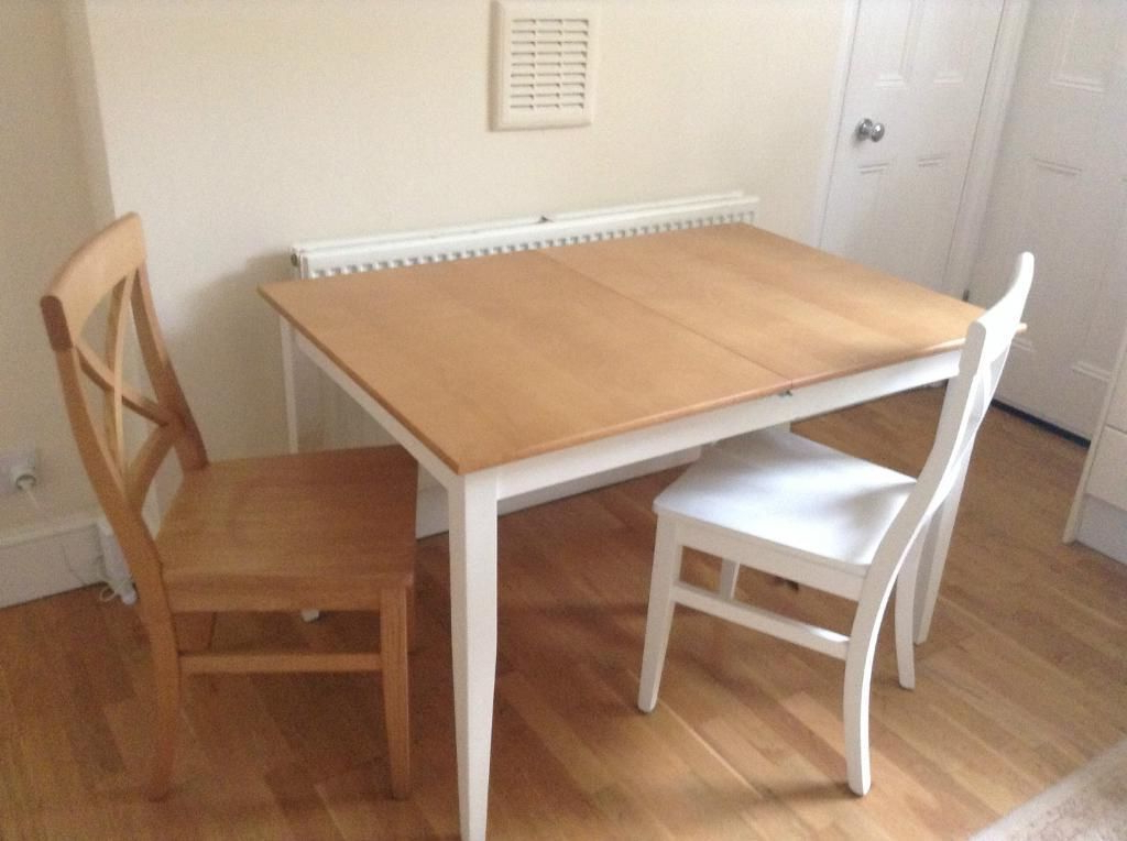 John Lewis Alba 4 6 Seater Extending Dining Table With Chairs, White Regarding Recent John 4 Piece Dining Sets (View 6 of 20)