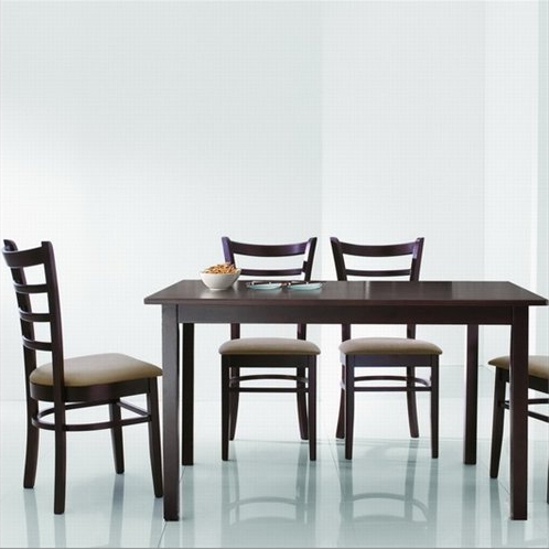 Featured Photo of Baxton Studio Keitaro 5 Piece Dining Sets