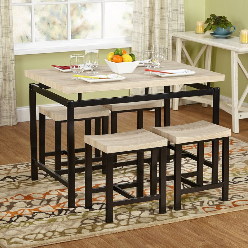 Joss & Main For Most Recently Released Tejeda 5 Piece Dining Sets (View 7 of 20)
