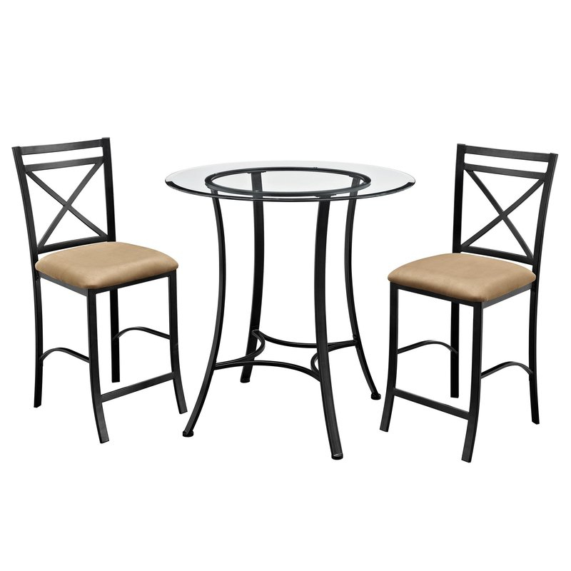 Joss & Main For Nutter 3 Piece Dining Sets (Gallery 18 of 20)