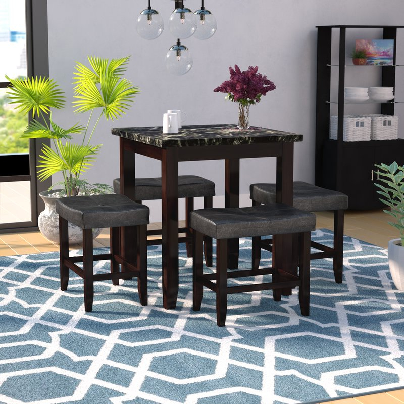 Joss & Main With Preferred Nutter 3 Piece Dining Sets (View 8 of 20)