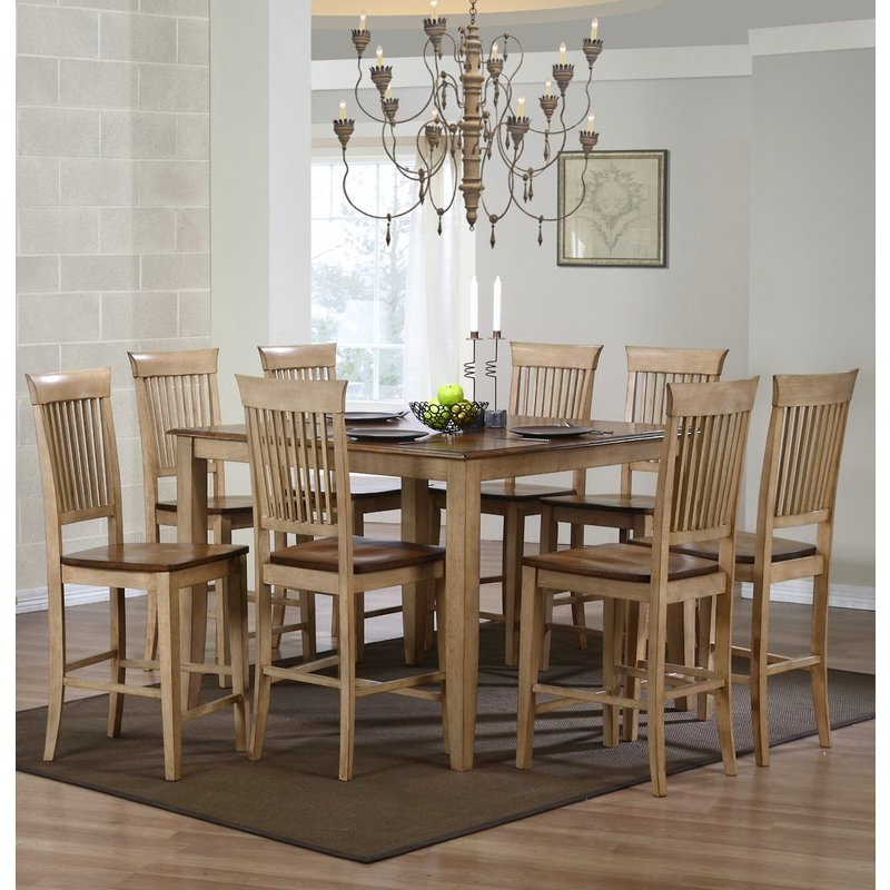 Joss & Main Within Goodman 5 Piece Solid Wood Dining Sets (Set Of 5) (Gallery 11 of 20)