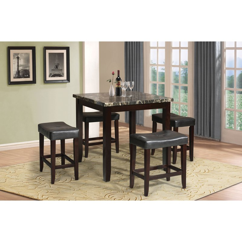 Joss & Main Within Tenney 3 Piece Counter Height Dining Sets (Gallery 9 of 20)