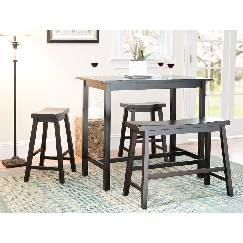 Kerley 4 Piece Dining Sets Intended For Current Chelsey 4 Piece Dining Set & Reviews (View 5 of 20)