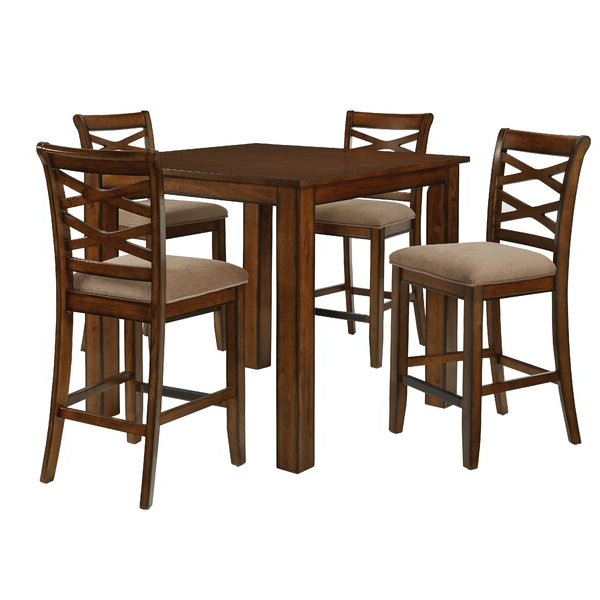 Kernville 3 Piece Counter Height Dining Seta&j Homes Studio Pertaining To 2020 Kernville 3 Piece Counter Height Dining Sets (Gallery 5 of 20)