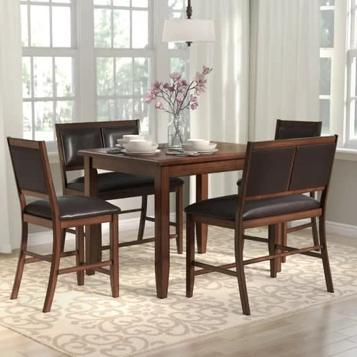 Konga With Fashionable Penelope 3 Piece Counter Height Wood Dining Sets (View 6 of 20)