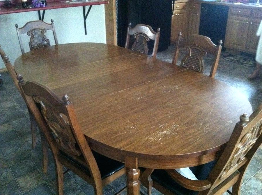 Kroehler Furniture Conover Nc Any Ideas How Much This Set Is Worth With Current Conover 5 Piece Dining Sets (Gallery 18 of 20)