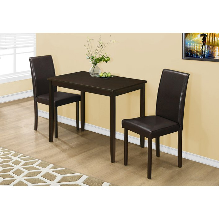 Latitude Run Baillie 3 Piece Dining Set & Reviews (Gallery 2 of 20)