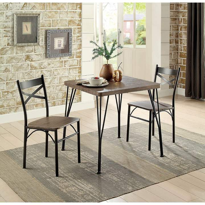 Laurel Foundry Modern Farmhouse Guertin 3 Piece Dining Set In 2019 Intended For Well Known Kieffer 5 Piece Dining Sets (View 11 of 20)