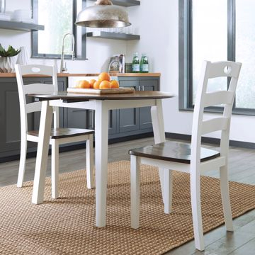 Lifestyle Furniturebabette's With Regard To 2020 Bedfo 3 Piece Dining Sets (View 16 of 20)